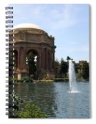 Palace Of Fine Arts And Lagoon Spiral Notebook
