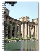 Palace Of Fine Arts Colonnades  Spiral Notebook