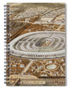 Palace Of The Universal Exhibition In Paris Spiral Notebook