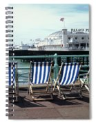 Palace Pier Brighton Spiral Notebook