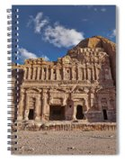 Palace Tomb In Nabataean Ancient Town Petra Spiral Notebook