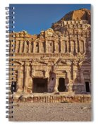 Palace Tombin Nabataean Ancient Town Petra Spiral Notebook