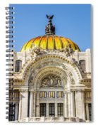 Palacio De Bellas Artes Spiral Notebook