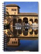 Palacio Del Partal La Alhambra Spiral Notebook
