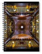 Palau Guell Ceiling Spiral Notebook