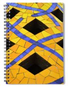 Palau Guell Chimney Spiral Notebook