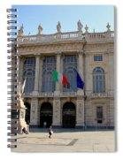 Palazzo Madama In Turin Spiral Notebook
