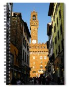 Palazzo Vecchio In Florence Italy Spiral Notebook