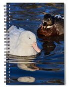 Pale Beauty Spiral Notebook
