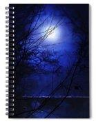 Pale Moon Spiral Notebook
