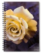 Pale Yellow Rose Spiral Notebook