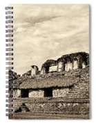 Palenque Panorama Sepia Spiral Notebook