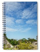 Palenque Temples Spiral Notebook