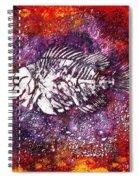 Paleo Fish Spiral Notebook