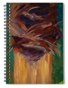 Palm Bark Spiral Notebook