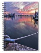 Palm Beach Harbor Spiral Notebook