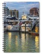 Palm Beach Marina Spiral Notebook