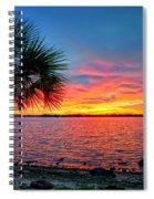 Palm Beach Sunset Spiral Notebook