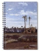 Palm Forest In Elche Spiral Notebook