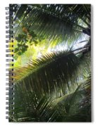 Palm Pattern 1 Spiral Notebook