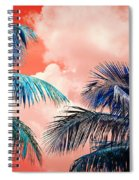 Palmscape Red Spiral Notebook