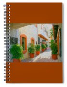 Palm Springs Courtyard Spiral Notebook