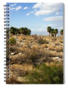 Palm Springs Indian Canyons View  Spiral Notebook