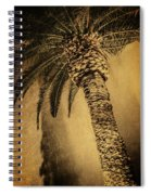 Palm Tree At The Aladdin Casino Spiral Notebook