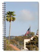 Palm Tree Flag Spiral Notebook