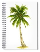 Palm Tree Number 4 Spiral Notebook