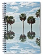 Palm Tree Reflection Spiral Notebook
