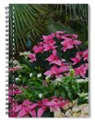 Palms And Flowers Spiral Notebook