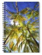 Palm Trees Of Aruba Spiral Notebook