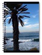Palm Waves Spiral Notebook