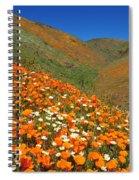 Palmdale Poppies Spiral Notebook
