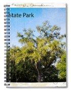 Palmetto State Park Spiral Notebook