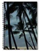 Palms At Dusk Spiral Notebook