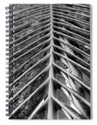 Palms E The Other Way In Black And White Spiral Notebook