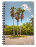 Palms Of Paradise Spiral Notebook