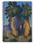 Palms With Skirts Spiral Notebook