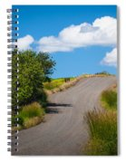 Palouse Country Road Spiral Notebook