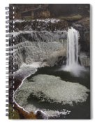 Palouse Falls In Winter Spiral Notebook