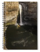 Palouse Falls With Rainbow Spiral Notebook