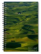 Palouse Green Spiral Notebook