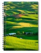 Palouse Green Sea Spiral Notebook