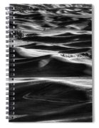 Palouse In Black And White Spiral Notebook
