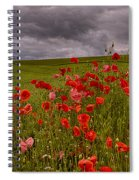 Palouse Poppies Spiral Notebook