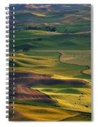 Palouse Shadows Spiral Notebook