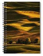 Palouse Sunset From Steptoe Butte Spiral Notebook