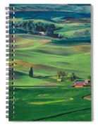 Palouse - Washington - Farms - 4 Spiral Notebook